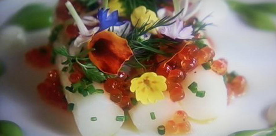 Smakriketprodukter på Prinsens bröllopsmeny